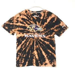 Custom Dyed Baltimore Ravens T-shirt